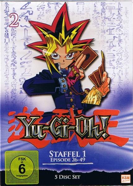Yu-Gi-Oh! Season 01 Vol. 02 Box