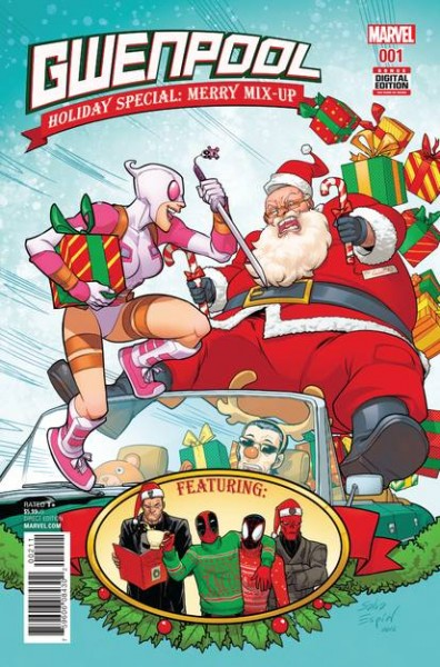 Gwenpool Holiday Special: Merry Mix-Up
