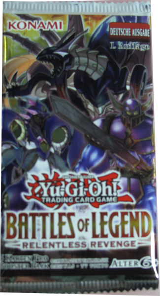 Yu-Gi-Oh! Battles of Legend - Relentless Revenge Booster deutsch