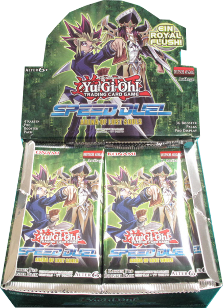 Yu-Gi-Oh! Speed Duel Arena of Lost Souls Booster Display