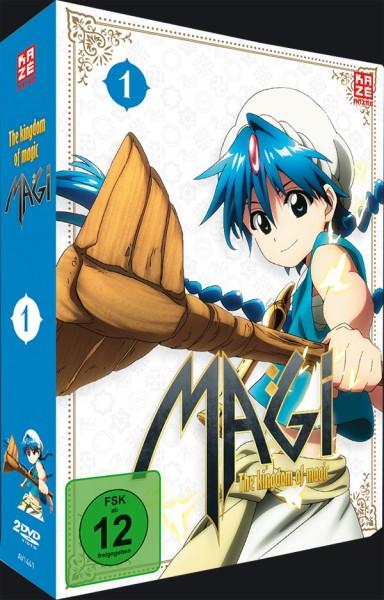 Magi - The Kingdom of Magic Vol. 01 Box