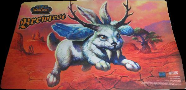 World of Warcraft Playmat Brewfest