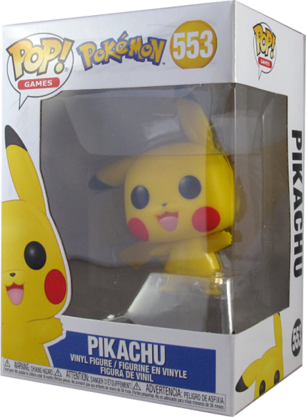 Action Figur Funko Pop Pokemon - Pikachu # 553