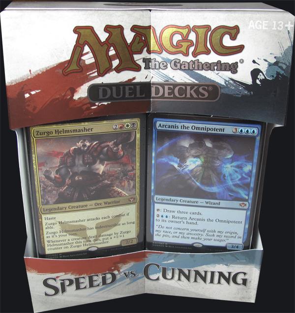 Duel Decks Speed Vs Cunning Magic The Gathering: Magic Speed Vs. Cunning Duel Deck