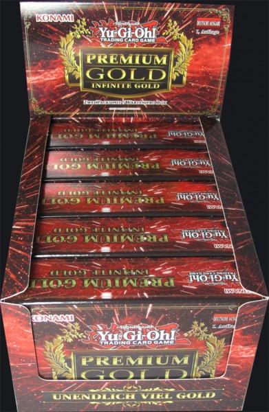 Yu-Gi-Oh! Premium Gold: Infinity Gold Dispaly