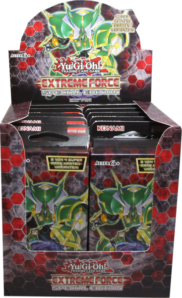 Yu-Gi-Oh! Extreme Force Special Edition Display