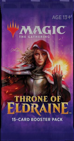 Magic Throne of Eldraine Booster englisch