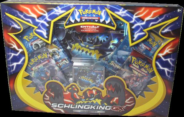 Pokemon Schlingking-GX Kollektion