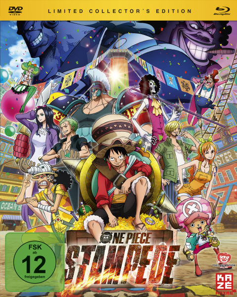 One Piece The Movie 13: Stampede Limited Edition