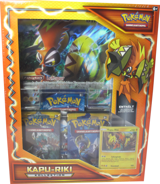 Pokemon Kapu-Riki Kollektion