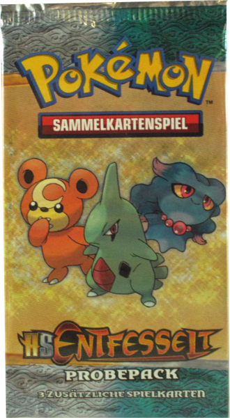 Pokemon HS Entfesselt Probepack