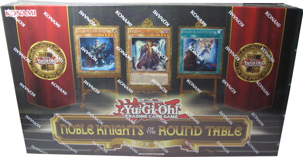 Yu-Gi-Oh! Noble Knights of the Round Table - Box Set deutsch