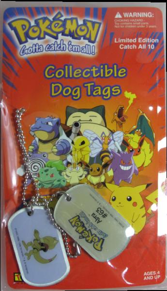 Pokemon Dog Tag Abra #63