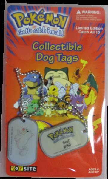 Pokemon Dog Tag Seel #86