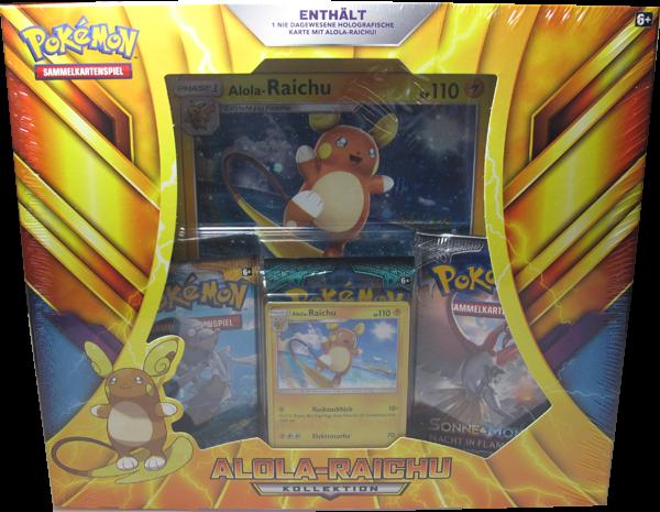 Pokemon Alola-Raichu Kollektion deutsch
