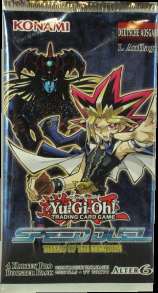 Yu-Gi-Oh! Speed Duel Trials of Kingdom Booster deutsch
