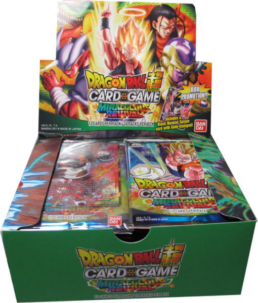 DragonBall Super Miraculous Revival Booster Display englisch
