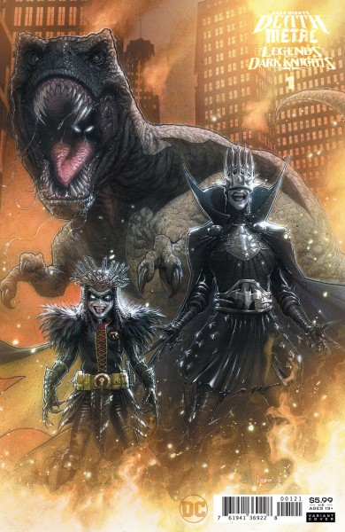 Dark Nights Death Metal Legends Of The Dark Knights #1 Cover B Incentive