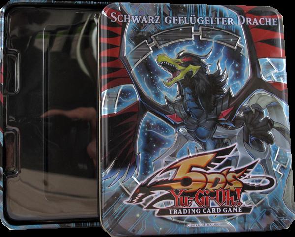 Yu-Gi-Oh! Schwarz geflügelter Drache Tin Box - Ohne Inhalt