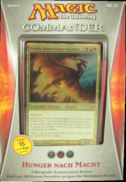Magic Commander Deck 2013: Hunger nach Macht