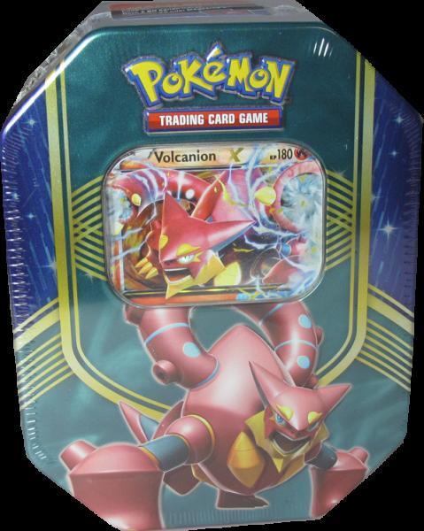 Pokemon Vulcanion EX Tin Box deutsch
