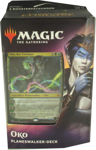 Magic Thron von Eldraine Oko Planeswalker Deck