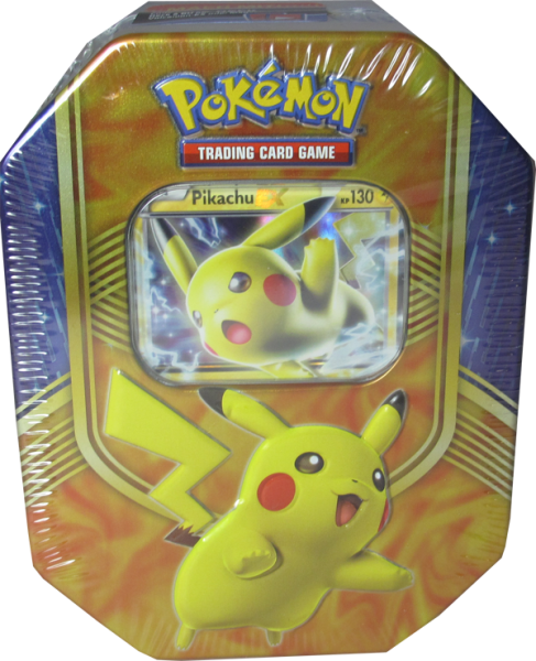 Pokemon Pikachu EX Tin Box deutsch