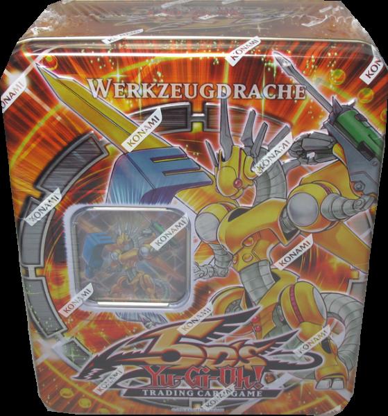Yu-Gi-Oh! Werkzeugdrache Tin Dose deutsch