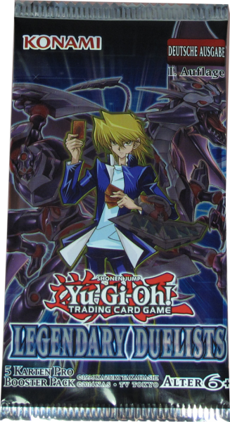 Yu-Gi-Oh! Legendary Duelists Booster deutsch