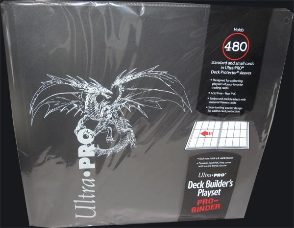 Ultra Pro - Deck Builders Playset Pro Binder - black