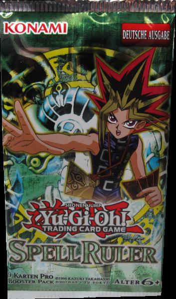 Yu-Gi-Oh! Spell Ruler Booster deutsch