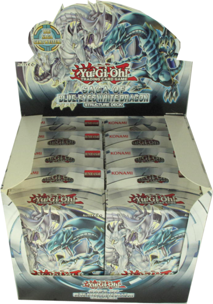 Yu-Gi-Oh! Saga of Blue-Eyes White Dragon Structure Deck Display deutsch