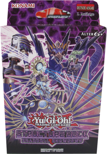 Yu-Gi-Oh! Shaddoll Showdown Structure Deck deutsch