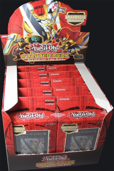 Yu-Gi-Oh! Dawn of the XYZ Starter Deck Display