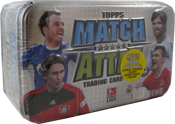 Match Attax Bundesliga Tin Box deutsch