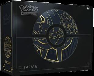 Pokemon Schwert & Schild Farbenschock Top-Trainer-Box-Plus Zacian