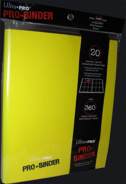 Ultra Pro Binder - yellow