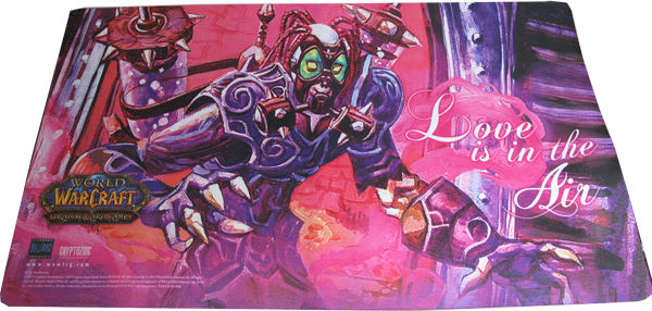 World of Warcraft Playmat Love is in the Air