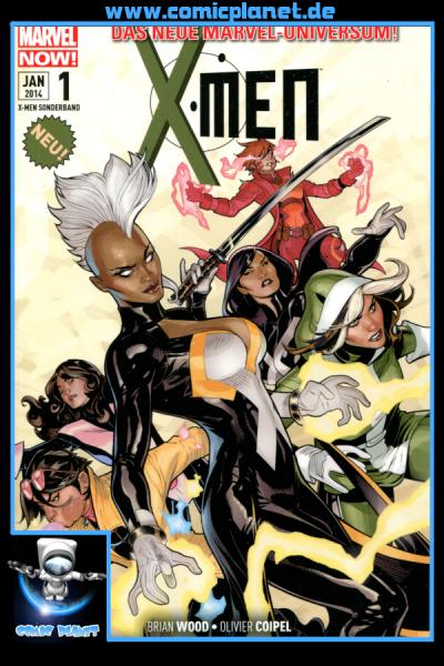 X-Men Sonderband 1: Teamgeist-Cover B