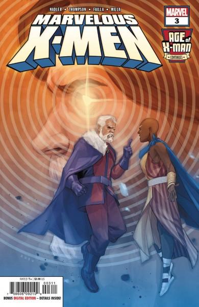 AGE OF X-MAN MARVELOUS X-MEN #3 (OF 5)