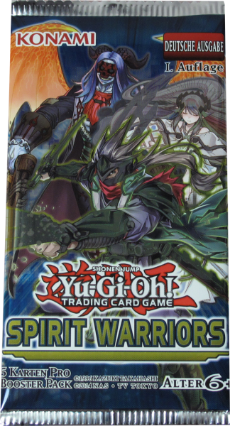 Yu-Gi-Oh! Spirit Warriors Booster deutsch