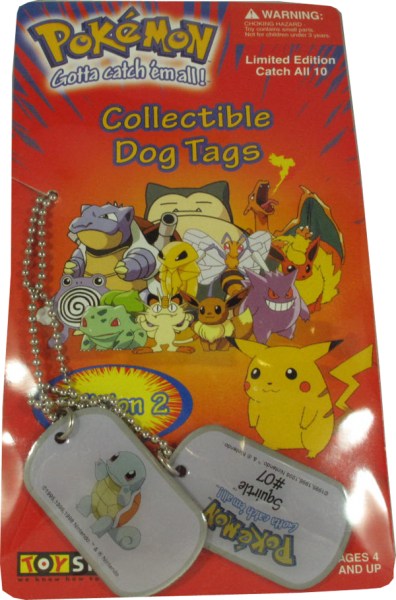 Pokemon Dog Tag Squirtle #07