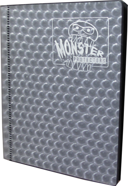 Monster Protection Card Album 2 Pocket silver