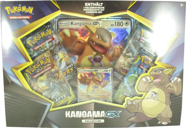 Pokemon Kangama-GX Kollektion