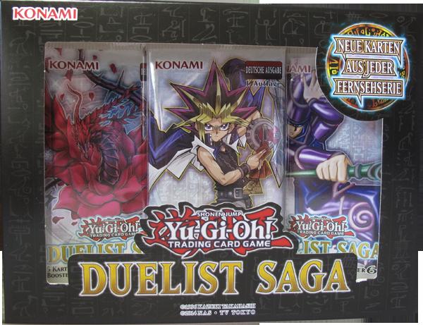 Yu-Gi-Oh! Duelist Saga Box deutsch