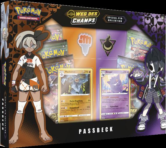 Pokemon Weg des Champs Special Pin Kollekton Passbeck
