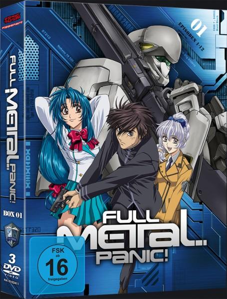 Full Metal Panic! 1. Staffel Box 01