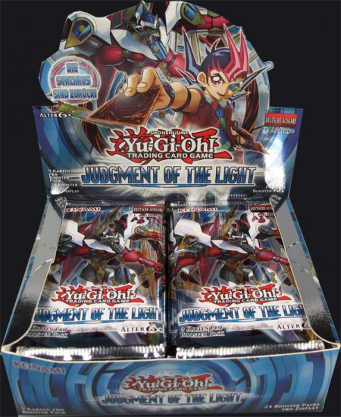 Yu-Gi-Oh! Judgment of the Light Booster Display