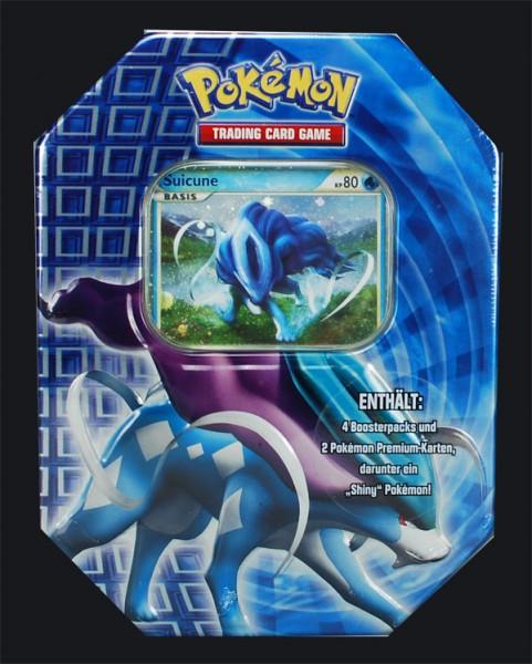 Pokemon Suicune Tin Box deutsch