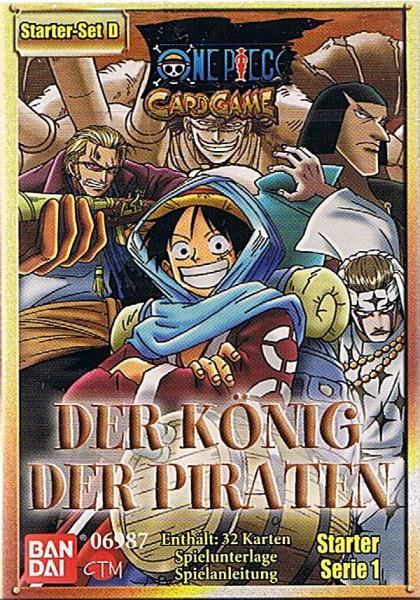 One Piece Der König der Piraten Starter Set D